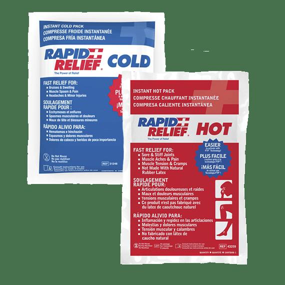 bolsas frio/calor instantáneas