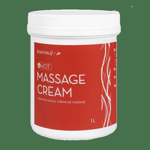 crema de masaje efecto calor