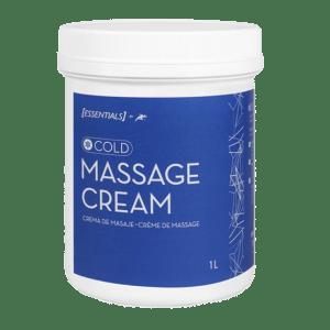 crema masaje efecto frío