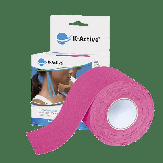 kinesiotape rosa K-Active