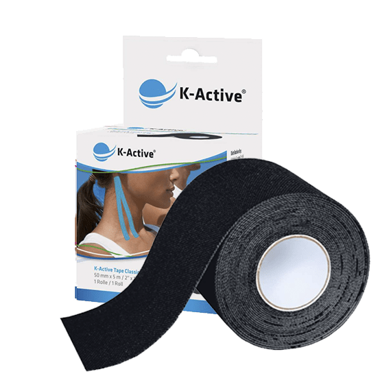 kinesiotape negro k-Active