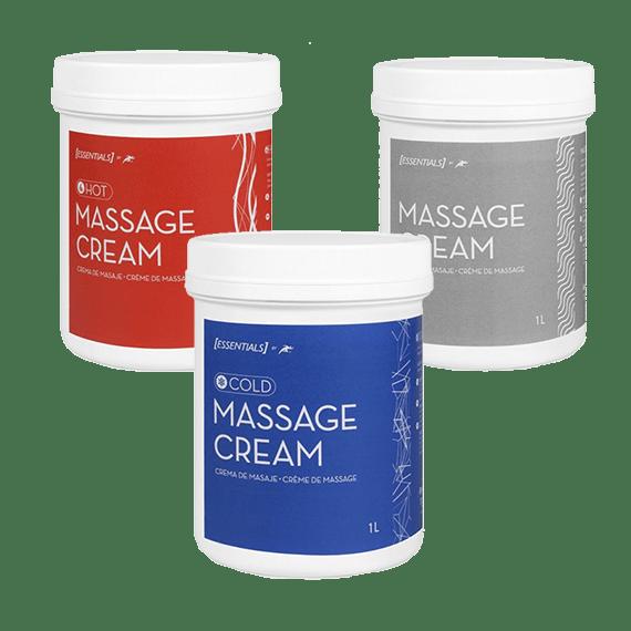pack cremas de masaje
