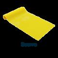 Cinta elástica amarilla intensidad suave Theraband