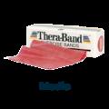 cinta elástica 5,5m roja media theraband