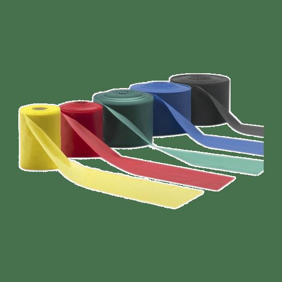 cinta elástica varios colores theraband