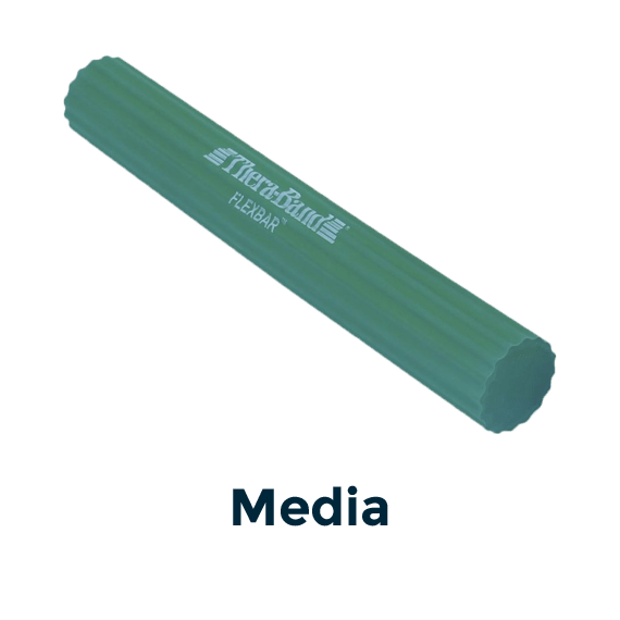 flexbar verde medio theraband